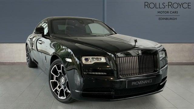 2017 Rolls-Royce Wraith 6.6 Black Badge (A6 reg)