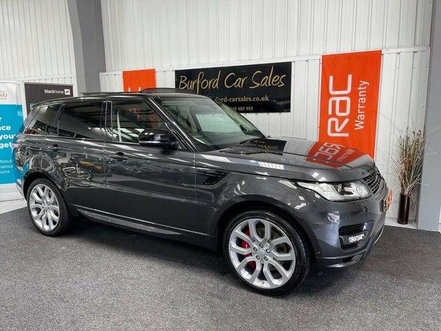 2018 Land Rover Range Rover Sport 3.0 SD V6 Autobiography Dynamic SD V6 4X4 (LW reg)