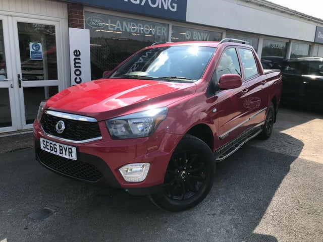 2017 Ssangyong Musso 2.2TD EX (178Ps) auto (AD reg)
