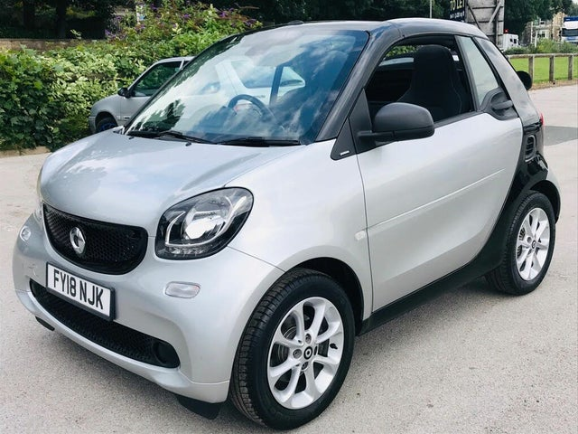 2018 Smart fortwo 1.0 Passion (70bhp) (s/s) Cabriolet Twinamic (E4 reg)