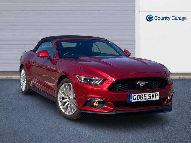 2015 Ford Mustang 2.3 (317ps) with (Custom Pack) Convertible (AT reg)