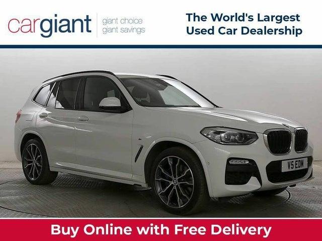 2019 BMW X3 3.0TD xDrive30d M Sport (s/s) (ED reg)