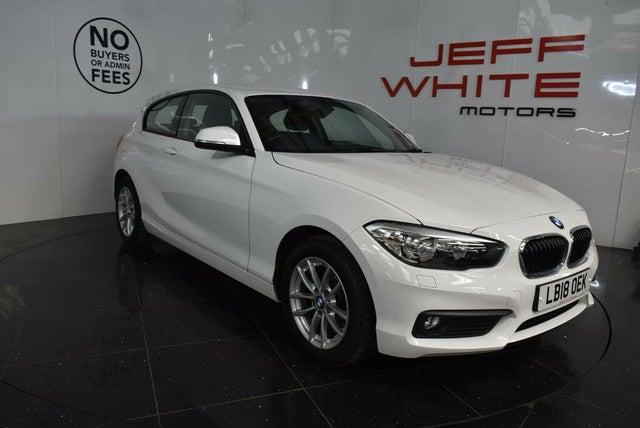 2018 BMW 1 Series 1.5TD 116d SE 3d Auto (A2 reg)