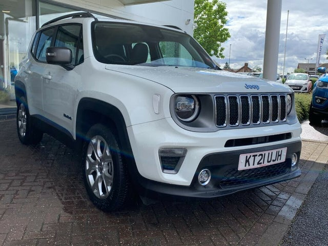 2021 Jeep Renegade 1.3 GSE Limited PHEV (21 reg)