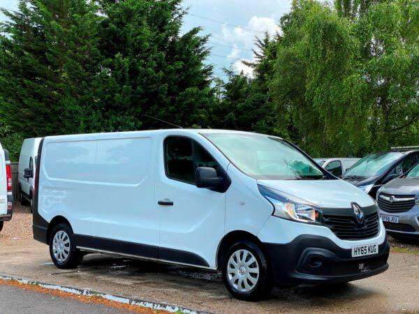 2015 Renault Trafic 1.6dCi LL29 115 Business Low Roof Van (13 reg)