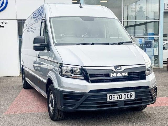 2020 M.A.N. TGE 2.0 BiTD 3180 Long (177PS)(EU6) RWD High Roof Van (A1 reg)