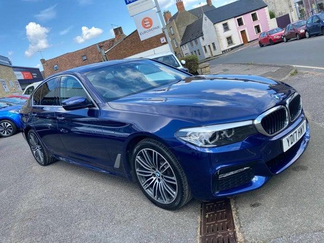 2017 BMW 5 Series 2.0TD 520d M Sport (188bhp) xDrive Saloon 4d Auto (17 reg)