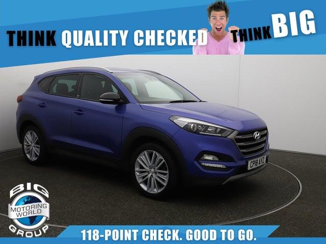 2018 Hyundai Tucson 1.6 T-GDi GO SE (18 reg)