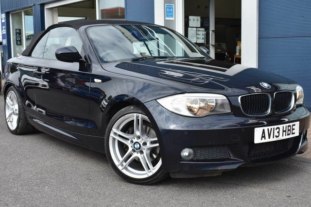 2013 BMW 1 Series 2.0TD 120d Sport Plus Edition Convertible auto (AU reg)