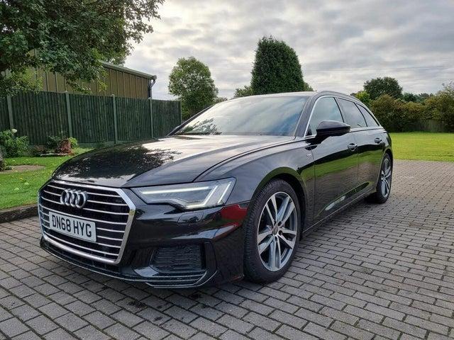 2018 Audi A6 Avant 2.0 40 TDI S Line (UZ reg)
