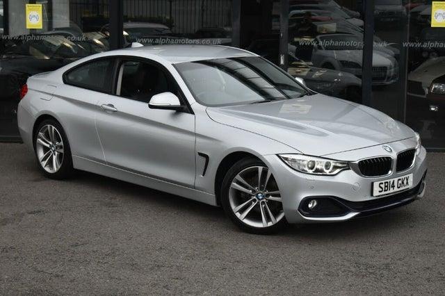 2014 BMW 4 Series 2.0TD 420d Sport Coupe 2d (14 reg)