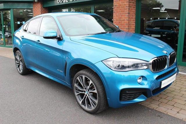 2018 BMW X6 3.0TD xDrive30d M Sport (s/s) (18 reg)