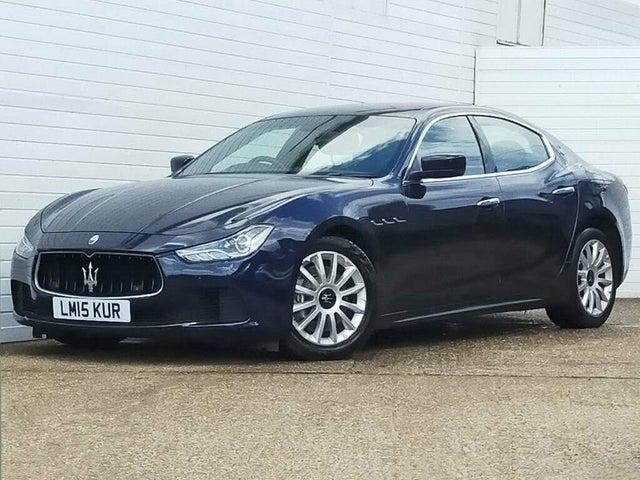 2015 Maserati Ghibli 3.0TD (MT reg)