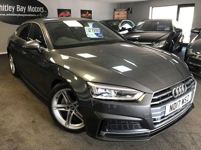 2017 Audi A5 2.0TDI ultra S Line (s/s) Sportback 5d Tronic (17 reg)