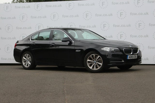 2015 BMW 5 Series 2.0TD 525d SE Saloon 4d (15 reg)