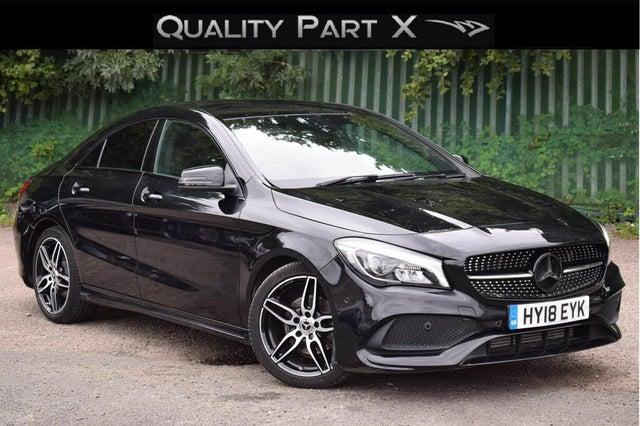 2018 Mercedes-Benz CLA 1.6 CLA 180 AMG Line Coupe 4d (18 reg)
