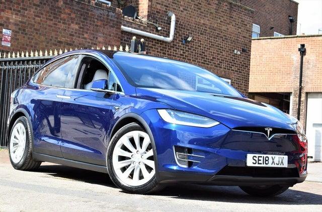 2018 Tesla Model X E 75D (JX reg)