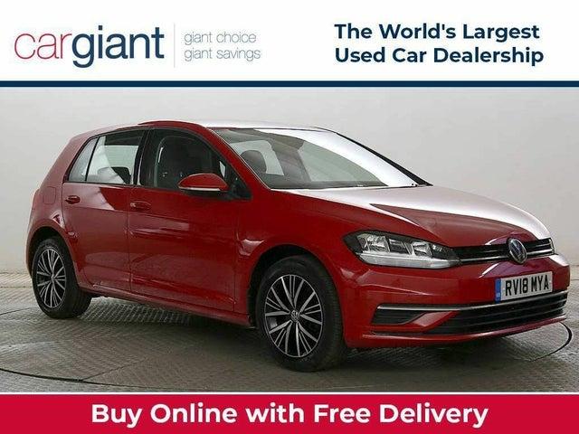 2018 Volkswagen Golf 1.6TDI SE Nav (s/s) Hatchback 5d (WZ reg)