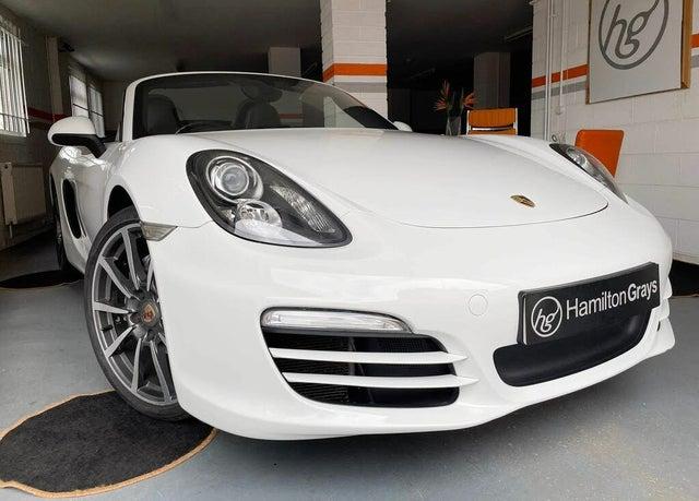 2013 Porsche Boxster 2.7 PDK (63 reg)
