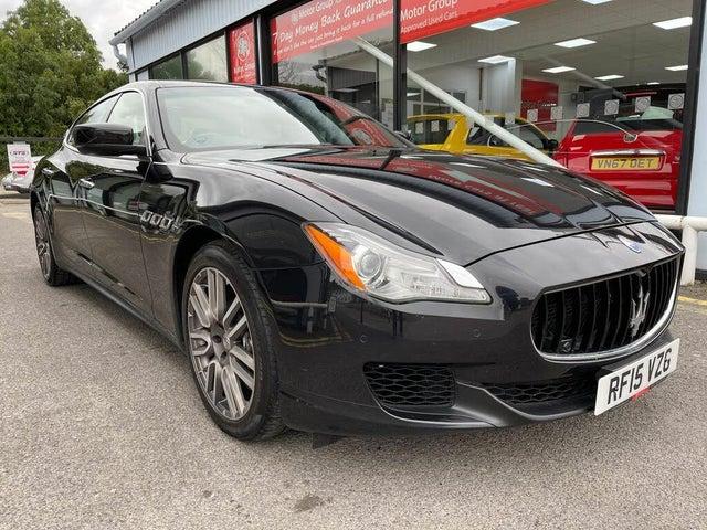 2015 Maserati Quattroporte 3.0TD (15 reg)