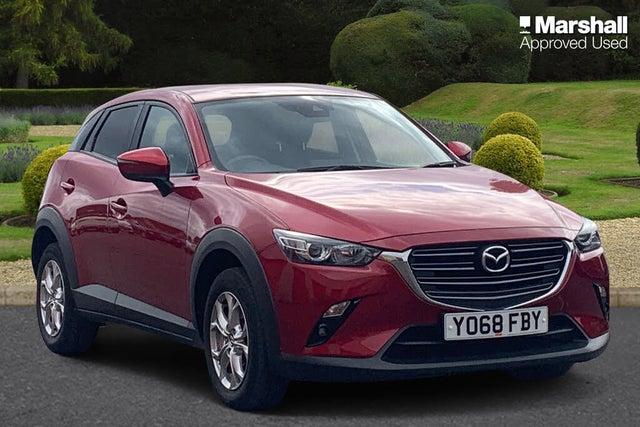 2019 Mazda CX-3 2.0 SE-L Nav+ Auto (68 reg)