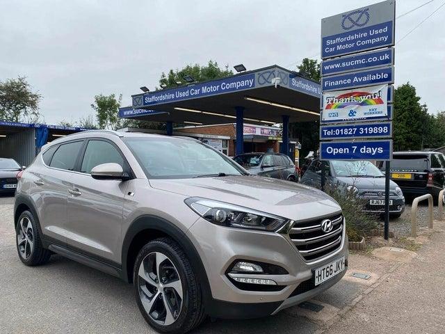 2017 Hyundai Tucson 1.7CRDi Blue Drive Sport Edition (116ps) (66 reg)