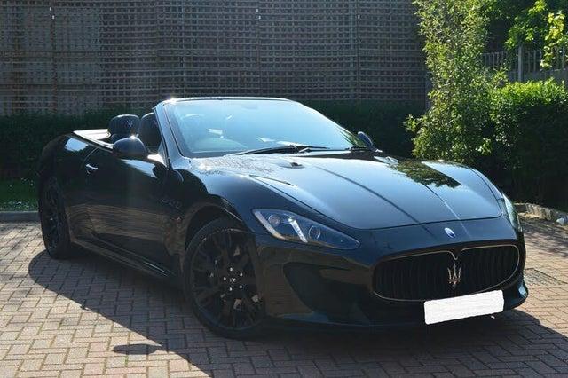 2014 Maserati GranCabrio 4.7 (14 reg)