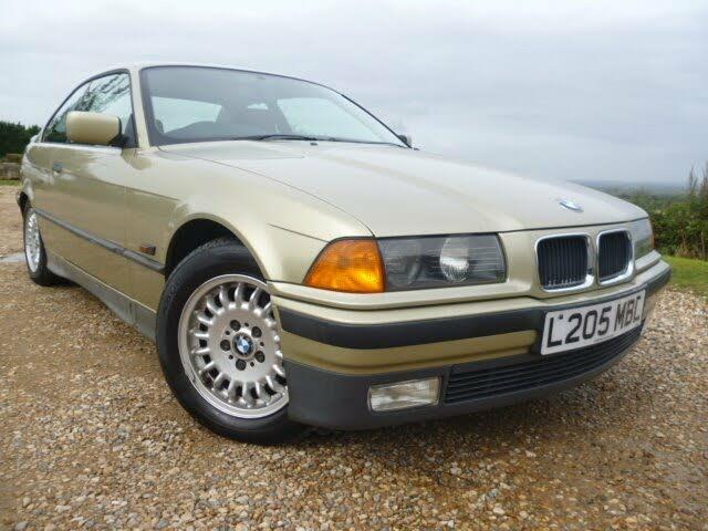 1994 BMW 3 Series 2.5 325i (192bhp) Coupe 2d Auto