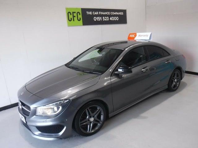 2015 Mercedes-Benz CLA 2.1CDI CLA 200 Sport (136bhp) (s/s) Coupe 4d (15 reg)