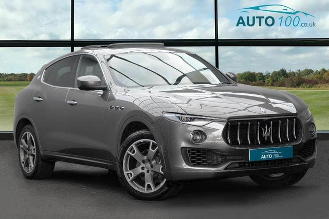 2018 Maserati Levante 3.0TD GranSport Nerissimo Edition (6T reg)