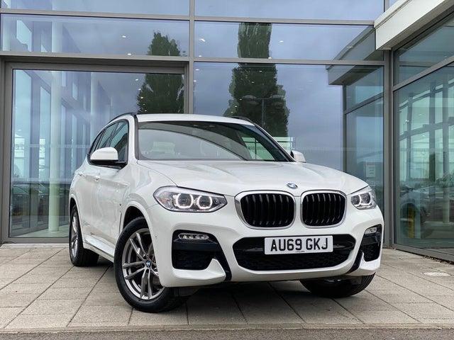2019 BMW X3 2.0TD xDrive20d M Sport TU (69 reg)