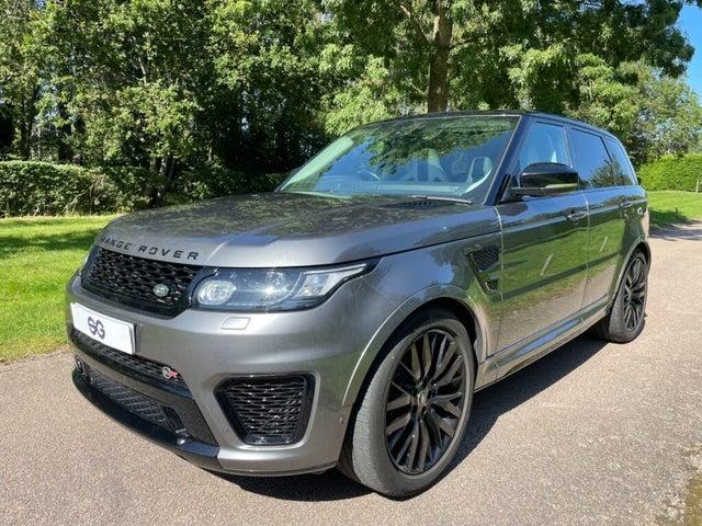 2016 Land Rover Range Rover Sport 5.0 SVR (67 reg)