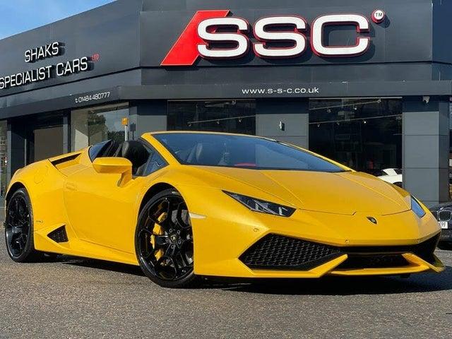 2018 Lamborghini Huracan 5.2 LP 610-4 Spyder (WE reg)