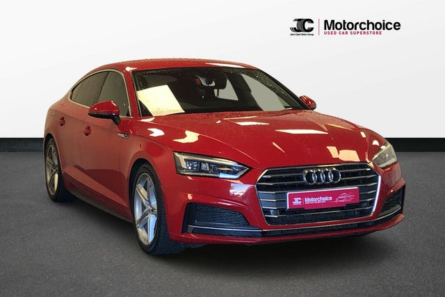 2017 Audi A5 2.0TDI S Line (150ps) Sportback 5d (67 reg)