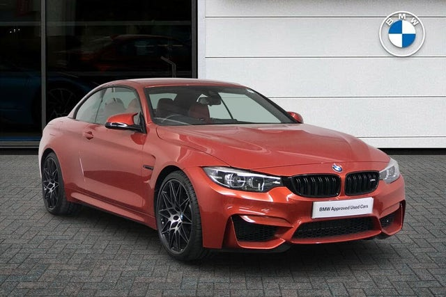 2018 BMW 4 Series 3.0 M4 (444bhp) (Competition Pack)(s/s) Convertible M DCT (18 reg)