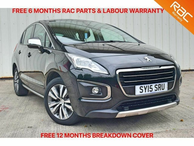 2015 Peugeot 3008 Crossover 1.6HDi Active (15 reg)