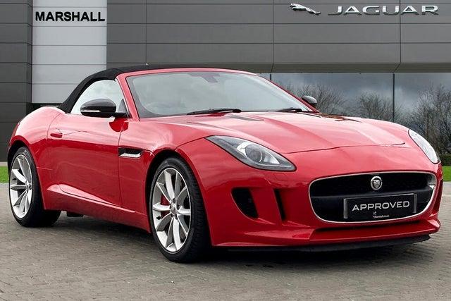 2015 Jaguar F-TYPE 3.0 Convertible Quickshift (15 reg)