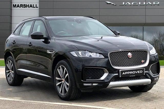 2017 Jaguar F-PACE 3.0TD S (s/s) (67 reg)