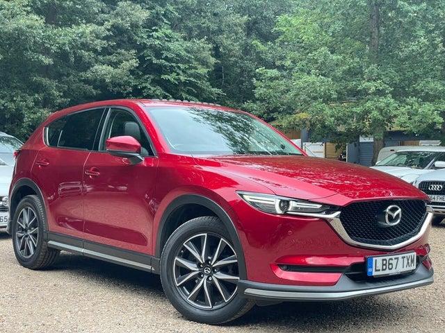 2018 Mazda CX-5 2.2TD Sport (Nav) (175ps) (AWD)(s/s) Auto (ZK reg)