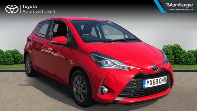 2018 Toyota Yaris 1.0 VVT-i Icon (71bhp) (68 reg)