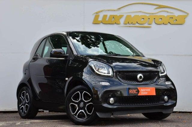2018 Smart fortwo 1.0 Prime (70bhp) (Premium Plus)(s/s) Coupe Twinamic (E4 reg)