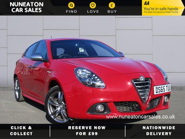 2015 Alfa Romeo Giulietta 1.6JTDm-2 Exclusive (120bhp) (R9 reg)