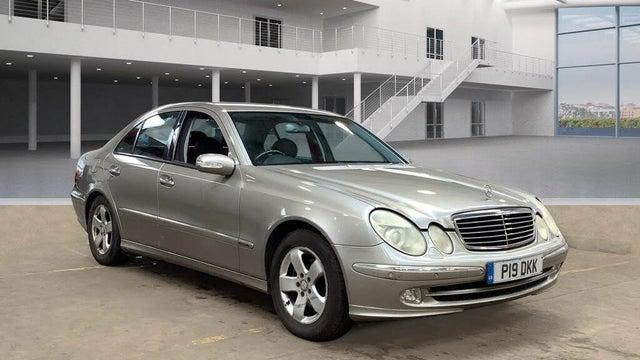 2004 Mercedes-Benz E-Class 2.6 E240 Avantgarde Saloon 4d (9D reg)