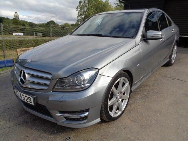 2012 Mercedes-Benz C-Class 2.1TD C200 CDi Sport Saloon 4d 7G-Tronic (D2 reg)