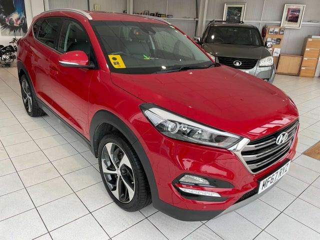 2017 Hyundai Tucson 1.6 T-GDi Sport Edition DCT (67 reg)