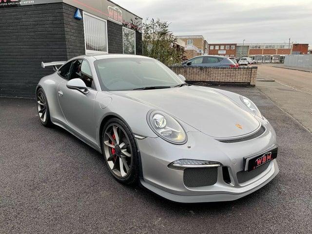 2014 Porsche 911 3.8 GT3 (64 reg)