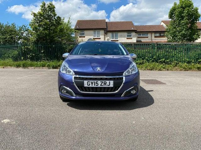 2015 Peugeot 208 1.2 PureTech Allure (82bhp) (s/s) 5d ETG5 (15 reg)