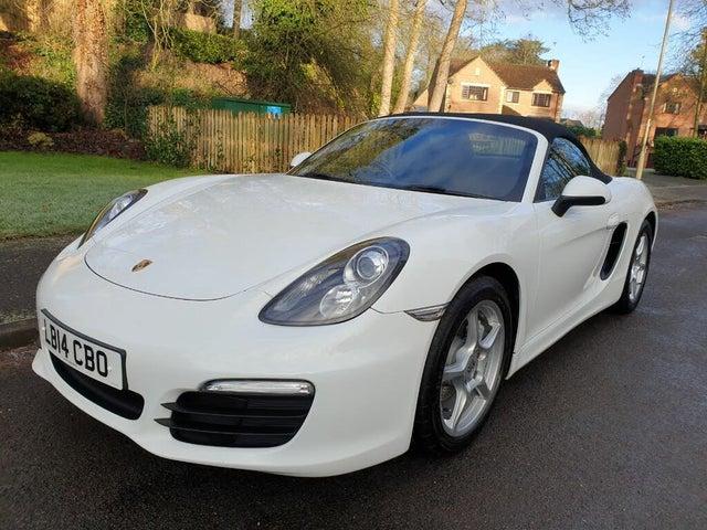 2014 Porsche Boxster 2.7 (14 reg)