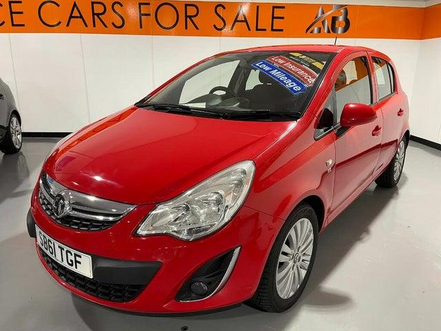 2011 Vauxhall Corsa 1.2 Excite (a/c) 5d (L0 reg)