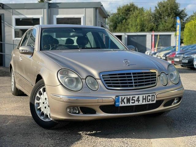 2005 Mercedes-Benz E-Class 2.1TD E220 CDI Elegance Saloon 4d auto (54 reg)